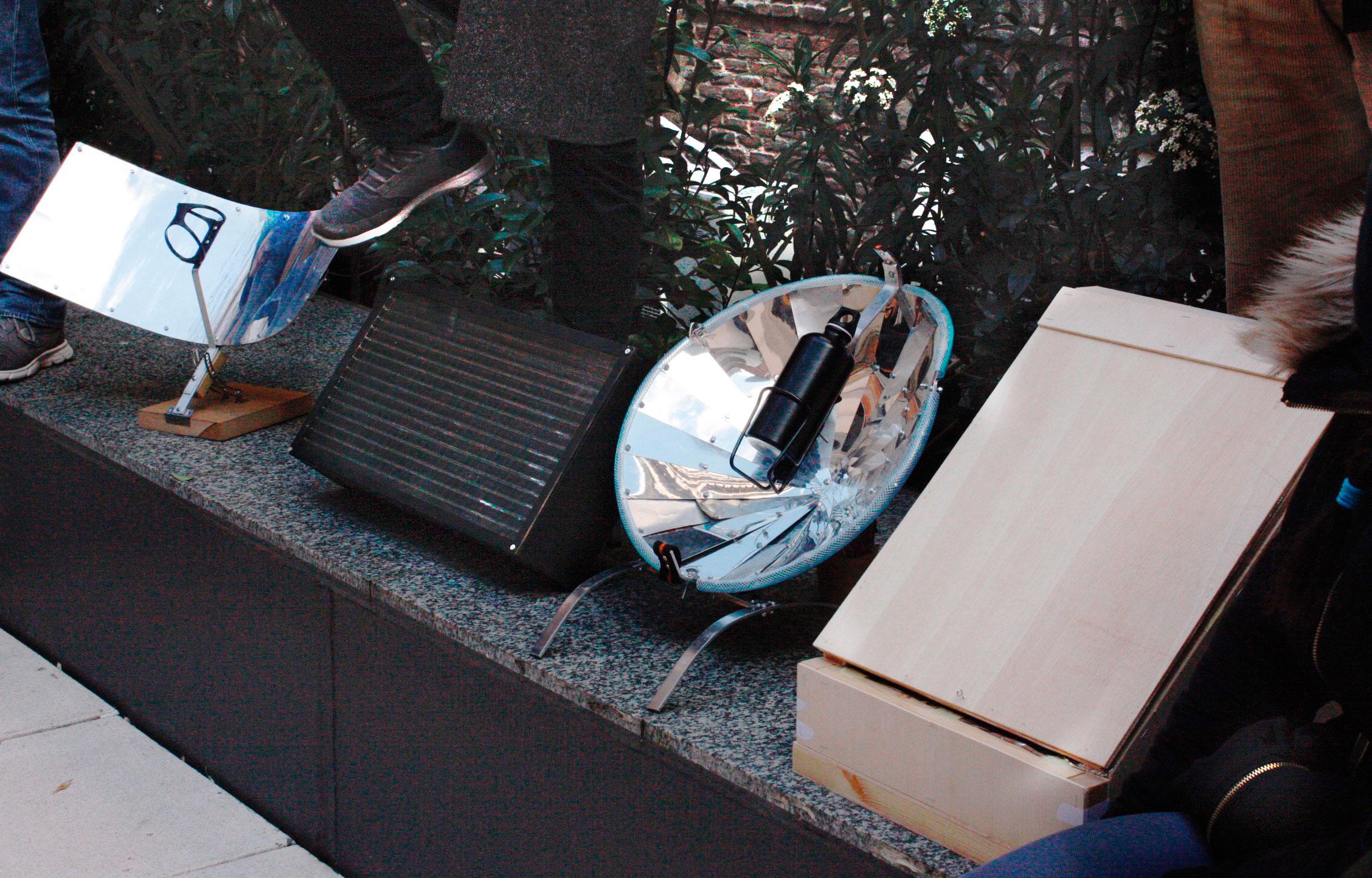 Solar Bottle, Solar Sustainable Sistem, Evosun y Kombious